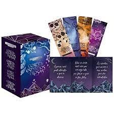 Box Corte De Espinhos E Rosas 4 Volumes (acompanha Cards E Marcadore