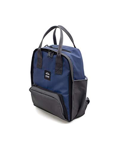 Sealand Buddy S Casual Rucksack - Recycled Bag, Umweltfreundlich und handgefertigt, Wasser abweisend und langlebig, Unisex Rucksack with Laptopfach - 11L - Blau
