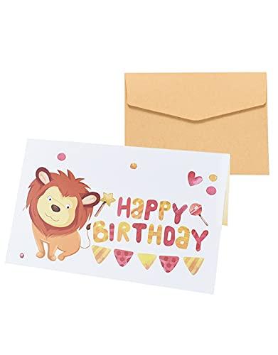 Biglietto d'anniversario Greeting Card, Biglietto di Auguri di Compleanno, Biglietto di Auguri con...