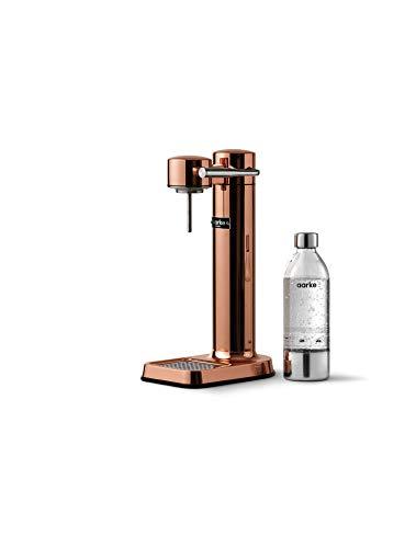 Aarke AAC3-COPPER Carbonator Wassersprudler, Stainless Steel, Copper