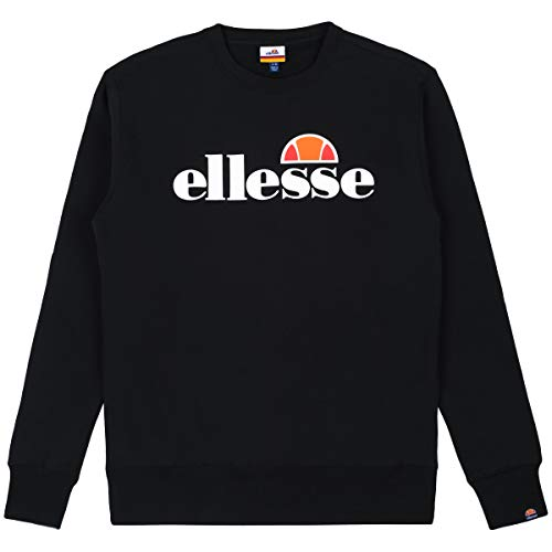 ellesse Men's SL Succiso Sweatshirt, Black, L