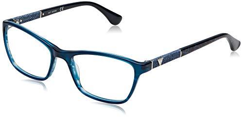 Guess Unisex-Erwachsene GU2594 087 52 Brillengestelle, Türkis (Turchese Luc)