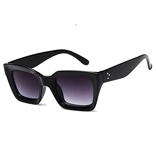 GAOTIAN Gafas de Sol Gafas de Sol cuadradas de Lujo para Mujeres Gafas de Sol Vintage Gafas de Sol para Mujeres Damas Gafas UV400