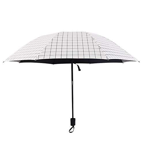 Find Bargain Glumes Umbrella Black Plastic Coating Rain and Rain Ins Wind ABS Rubber Non-Slip Handle...