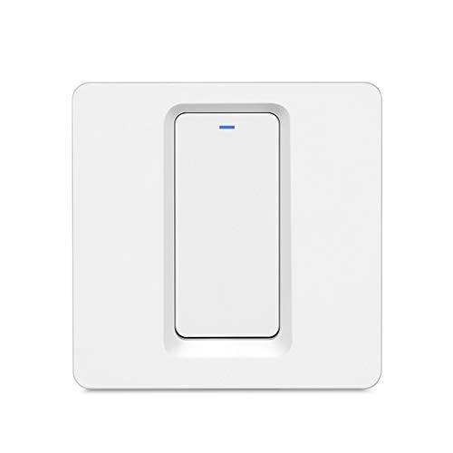bibididi Interruptor de Panel de Control Inteligente con un Solo Fuego, luz de Pared para el hogar, Toque App-3#