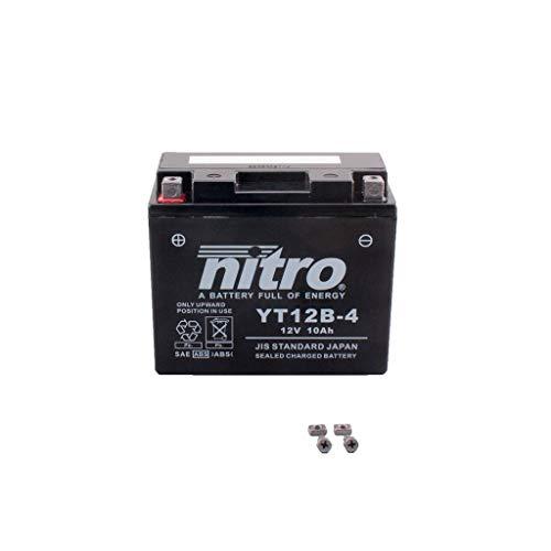 Preisvergleich Produktbild Batterie 12V 10AH YT12B-4 Gel Nitro 803 Scrambler Full Throttle ABS KC 17-18