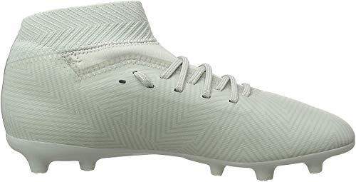 adidas Nemeziz 18.3 FG J, Zapatillas de Fútbol para Niños, Gris (Ash Silver/Ash Silver/White Tint S18), 32 EU