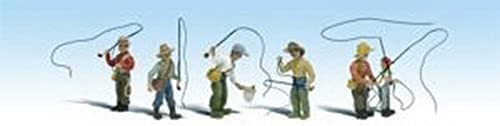 para mayoristas Woodland Scenics HO Scale Scenic Accents Figures People Set Fly Fly Fly Fishermen (6) by Woodland Scenics  Hay más marcas de productos de alta calidad.