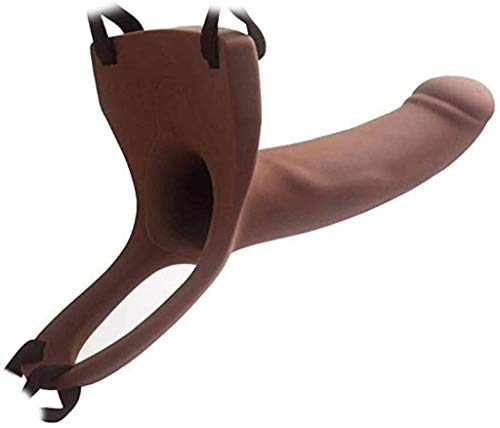 UYIKEA Big Size Hǒllǒw Strápǒn for Men Pleasure - Couples Role Play - Discreet Package Relaxing Yourself Happy Tools XWJ (Color, Brown),Brown LLLDN (Color : Brown)