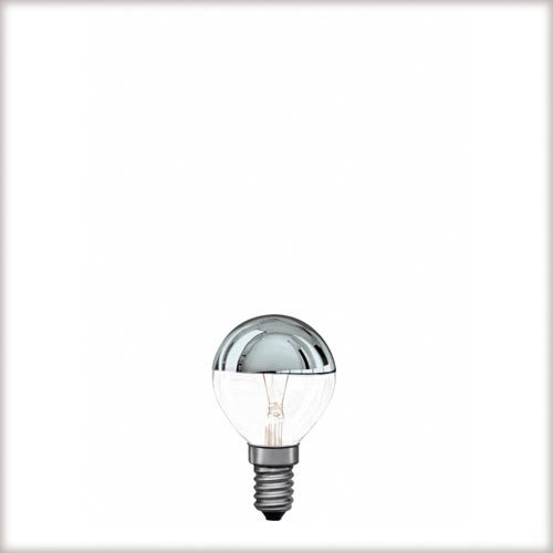 Glühlampe Tropfen 40 Watt E14 Silber