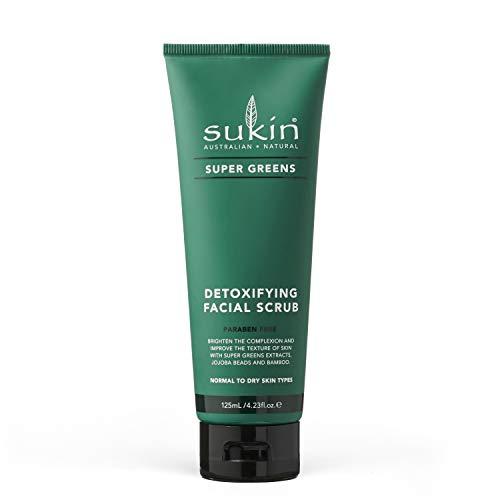 Sukin Super Greens Facial Scrub, 125ml