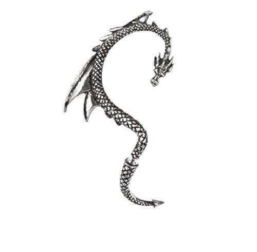 Pendiente Derecho Alchemy Dragons Lure (Plateado)