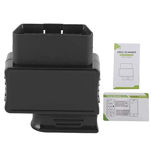 Escáner de fallas de coche, lector de código de cabeza de escáner de diagnóstico automático OBD2 Bluetooth para Android/iOS Systerm