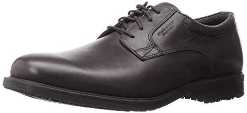 Rockport mens Essential Details Waterproof Plain Toe oxfords shoes, Black, 13 X-Wide US