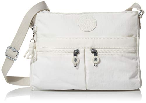 Kipling Angie Crossbody Bag, New Alabaster