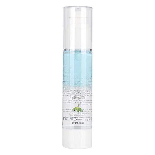 Spray para el cuidado del cabello, spray hidratante reparador de cabello dañado con protección UV de menta, acondicionador sin enjuague Mejora la suavidad y el brillo(50 ml)