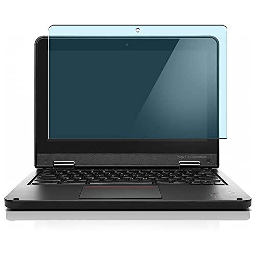 Vaxson 2 Unidades Protector de Pantalla Anti Luz Azul, compatible con Lenovo ThinkPad Yoga 11e Chromebook 11.6' [No Vidrio Templado] TPU Película Protectora