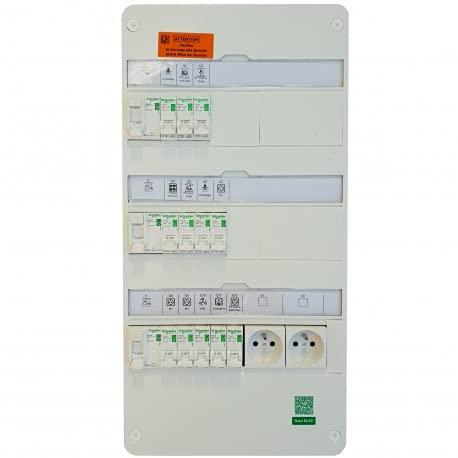 Schneider Electric - Tableau électrique 35 à 100m² XP - TAMC - SCHNEIDER RESI9 - SCH-35/100SC XP