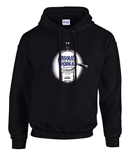zagorka Vodka Absolut NegroE Fun Hooded Sudaderas con Capucha Negro -3041 –...