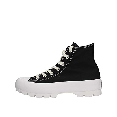 Converse Sapatilhas Jr Chuck Taylor All Star Lugged Canvas Hi Preto 37