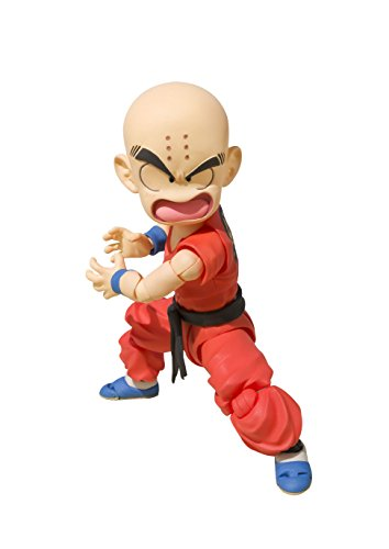 """Tamashii Nations S.H.Figuarts Krillin-the Early Years """"Dragon Ball"""" Action Figures"""