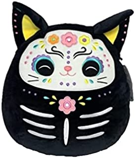 """Squishmallow 12"""" Zelina The Black Cat - Halloween Official Kellytoy Plush - Cute and Soft Stuffed Animal - Great Gift for ..."""