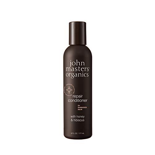 John Masters Organics Après-Shampoing Pour Cheveux Abîmés Au Miel Et À L'hibiscus - 177 ml