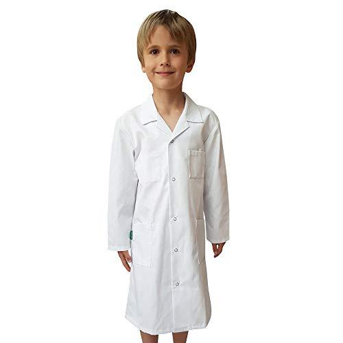 Blouse enfant Blanche pour chimie et peinture en milieu scolaire 10 ANS