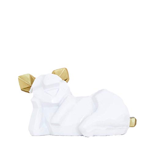 Escultura de escritorio Ornamento nórdico Piglet Bucket Decoración Estilo de Ins Creativo...