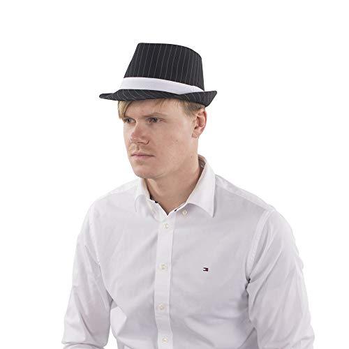 Dress Up America Fedora Chapeau Noir Taille Unique