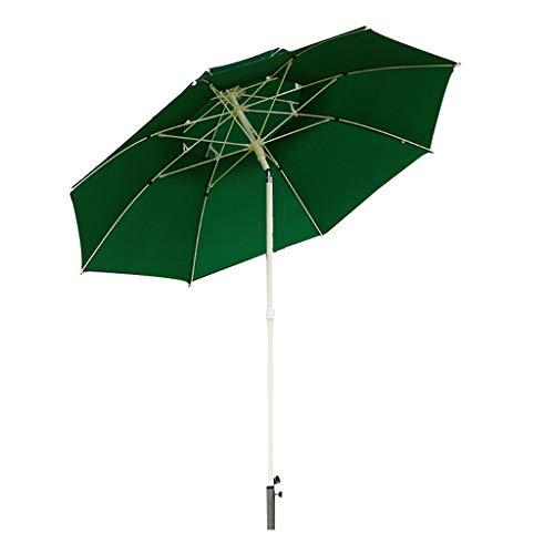 LILYHOME Sombrilla De Moda Al Aire Libre En El Patio   Bold Umbrella Poles   Esqueleto De 8 Huesos   Tela De Paraguas Extraíble   Protección Solar, 2.25 Metros De Diámetro Debajo del Paraguas