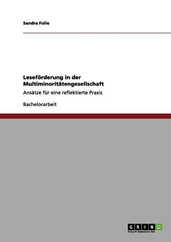 Leseförderung in der Multiminoritätengesellschaft: Ansätze für eine reflektierte Praxis