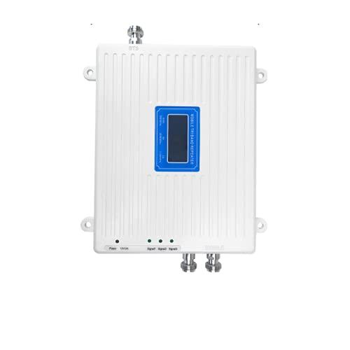 4G 3G 2G amplificatore del segnale LTE 900 1800 2100 antenna esclusa 2-WAY (900 1800 2100 MHZ)