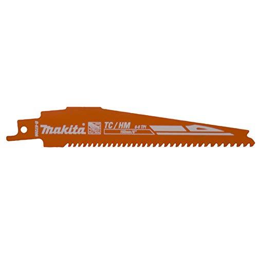 Makita B-67206 B-67206-Hoja s.Sable Rescate 152/1,25x6-8 tpi (25 unds), Negro