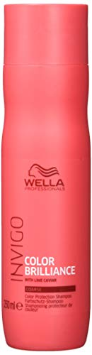 Wella Professionals Invigo Color Brilliance/Protection Shampoo Coarse - Farbschutzshampoo für dickes, kräftiges Haar, 250 ml