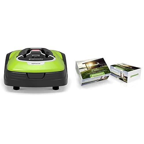 Greenworks Robot Mower Optimow 15 & RLM...