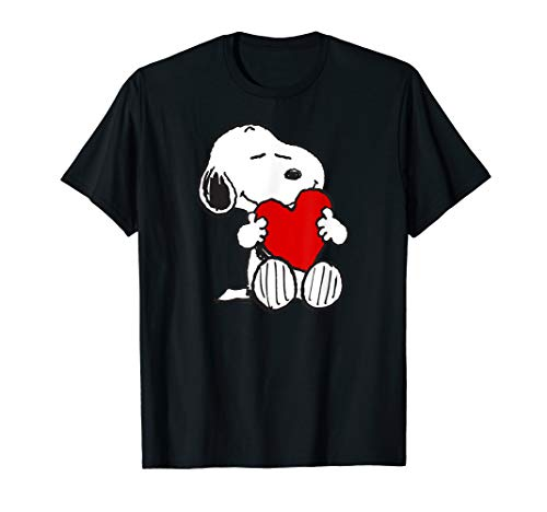 Peanuts Valentine Snoopy Liebe T-Shirt