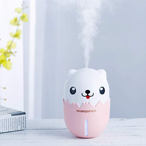 Vaporizador Mini automóvil humidificador portátil purificador de aire purificador de aire para automóviles Wang USB mini humidificador hogar dormitorio oficina mudo pequeño escritorio spray de aire