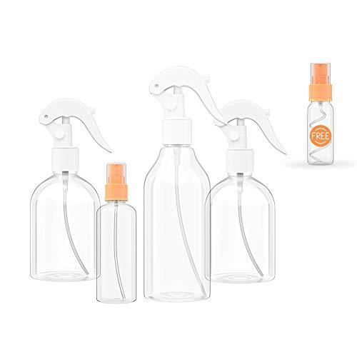 Empty Spray Bottles Spray Bottles for Cleaning and Hair Solutions Spray Bottles with Sprayer Mini Spray Bottles for Hand Sanitizer