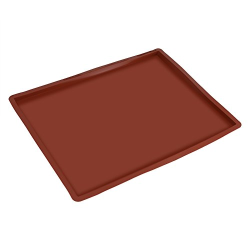 Fdit Baking Mat Swiss Roll Cake Roller Pad Non-Stick Functional Cookie Sheet Silicone Oven Liner