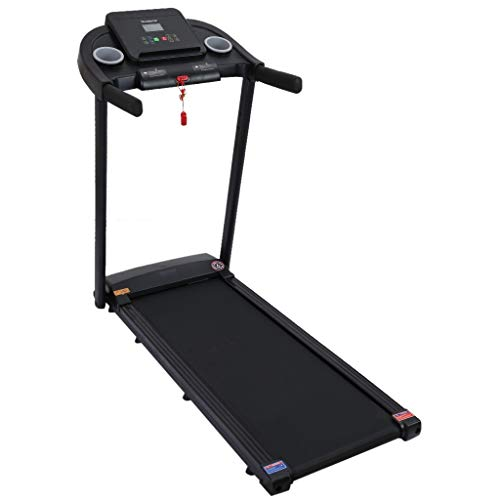 IUHI 2 in 1 Under Desk Treadmills, 2.25HP Folding Walking Jogging Machine with LED LCD Display, Bluetooth Speaker,3 Levels Manual Incline 12 Preset Program,Electric Motorized Treadmill for Home/Gym,US Treadmills