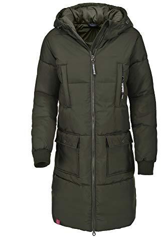 Eskadron Fanatics HW19 Ivy Long Outdoor Jacke Farbe: Oliv Größe: XL