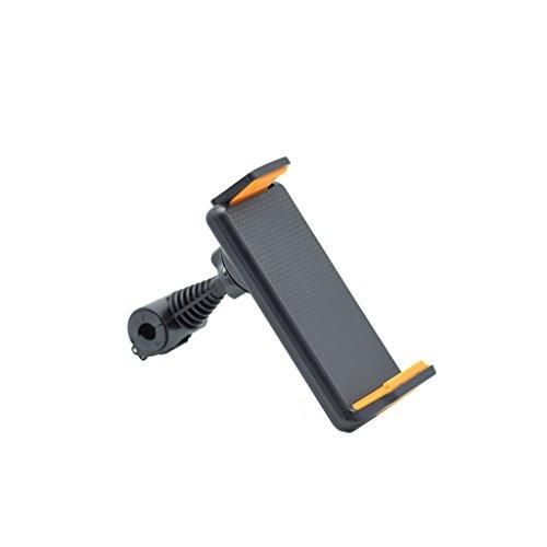 Buwei 360˚ Soporte Giratorio para reposacabezas del Asiento Trasero del Coche Soporte para Tableta GPS 4'-10'