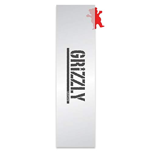 Grizzly Clear Stamp Pro Skateboard-Griptape, 9 x 33 cm