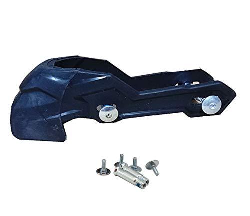 XIUWOUG Inline-Rollschuhe Bremsbeläge Erwachsene Inline-Rollschuhe Schuhe Schlittschuhe Bremsen Block Pad Bremsen Ersatzzubehör für 72/76/80mm Räder,Schwarz