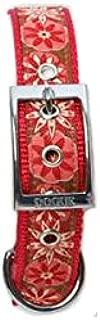 Dogue D RFH Collar Ribbon Flower, Red, 65cm