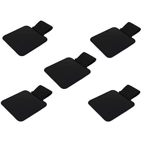 Life VC Pack of 5 Self-Adhesive Leather Pen Holder Pencil Elastic Loop for Notebooks,Journals,Clipboards,Calendars and Planners