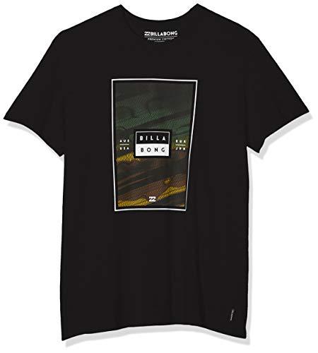 BILLABONG Tucked SS T-Shirt, Uomo, Nero (Black 19), XS