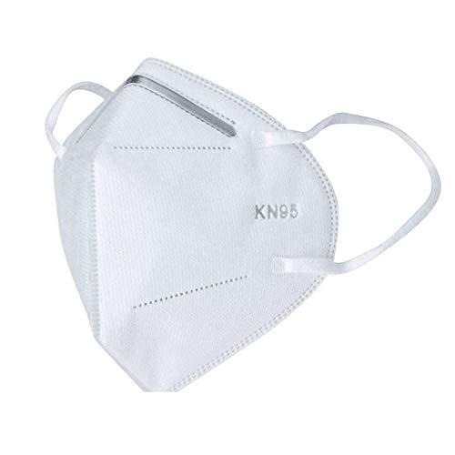 Tomashi KN95 Schutzmasken mit 4 Schichten (Packung mit 5 Einheiten)