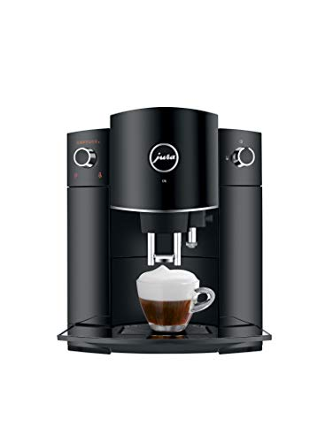 Jura D6 Automatic Coffee Machine, 1, Black